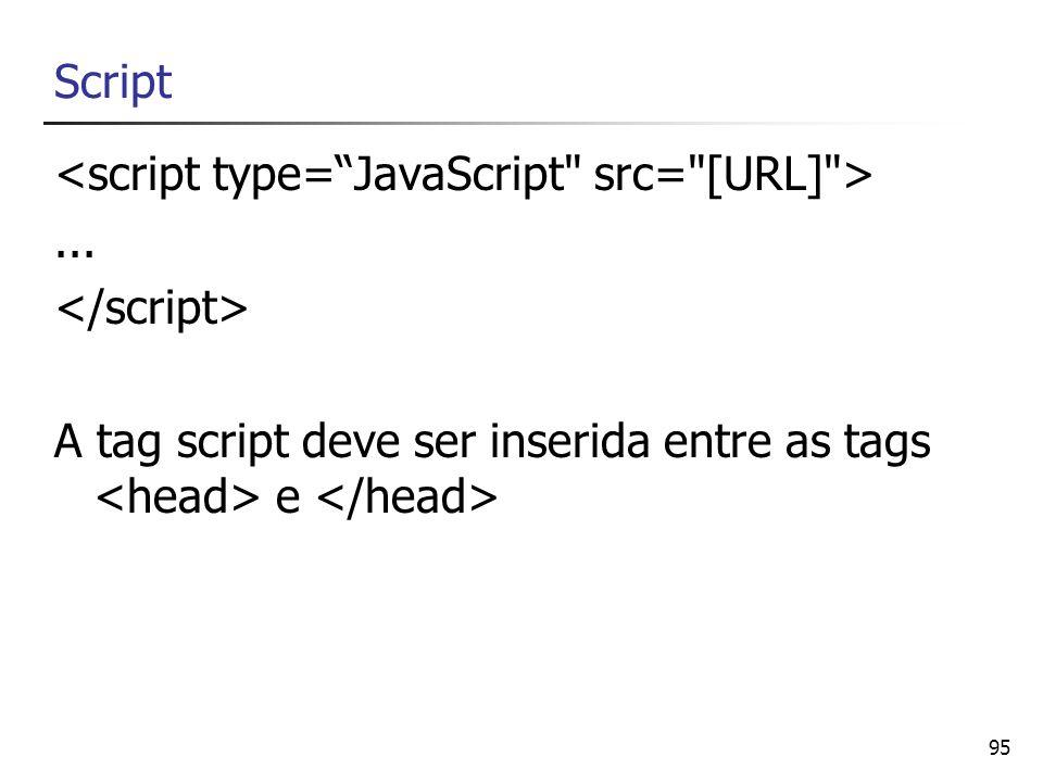 Script <script type= JavaScript src= [URL] > ...